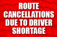 Route cancellations